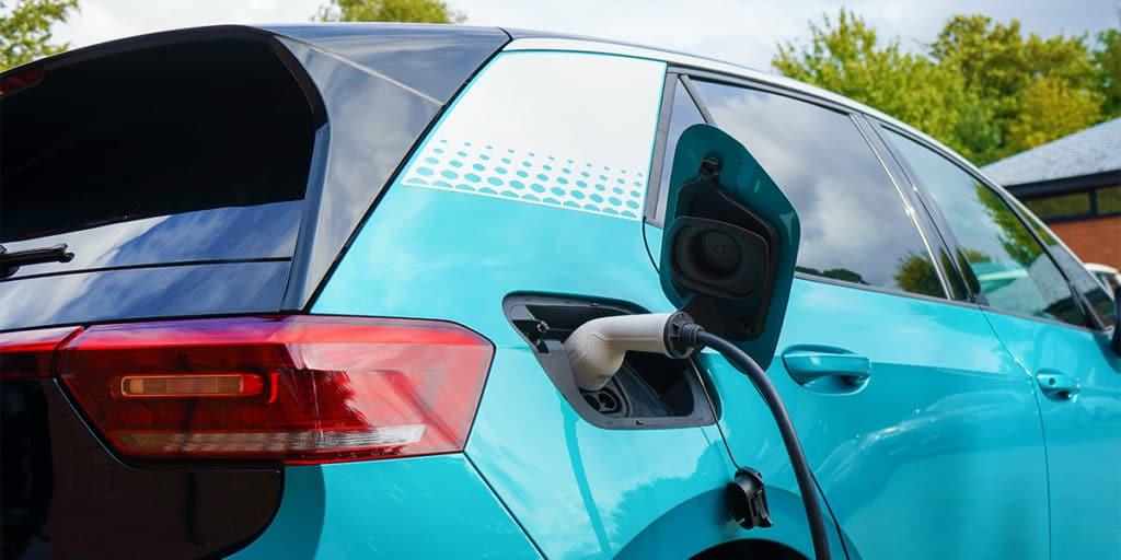 Ein Volkswagen ID.3 fällt als elektrischer Firmenwagen unter die 0,25% Versteuerung.