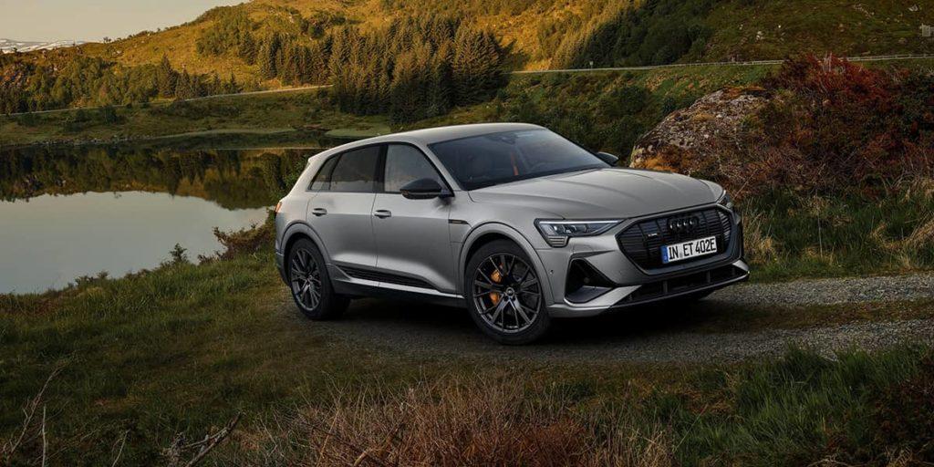 Der Audi e-tron. Ein perfekter, elektrischer Firmenwagen.