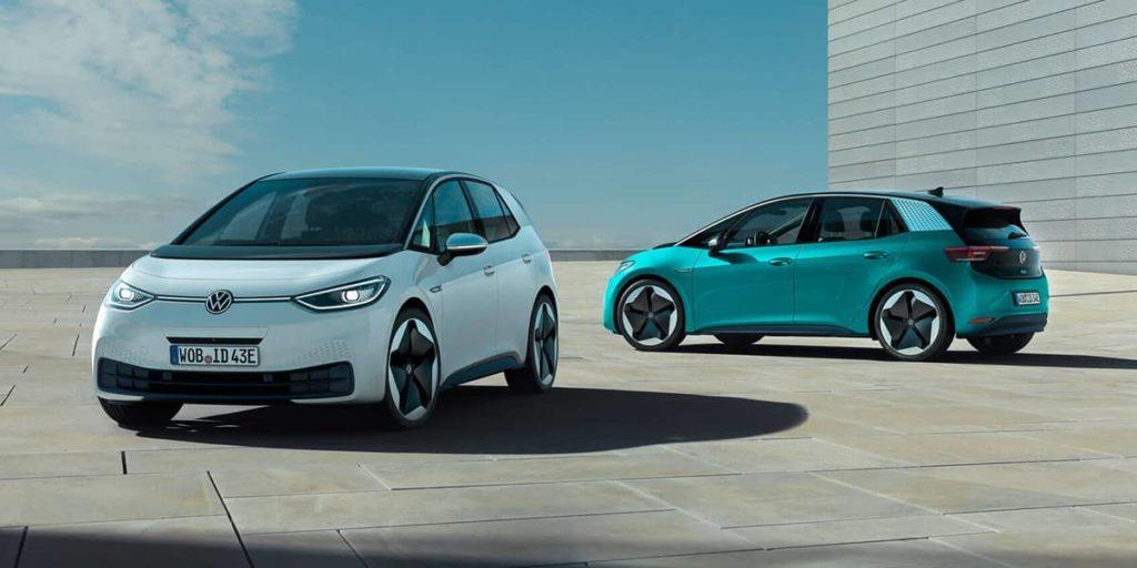 Der vollelektrische VW ID.3