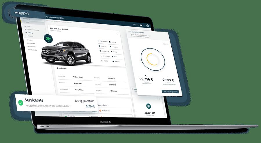 Fuhrparkmanagement Software webbasiert