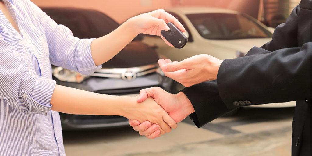 Übergabeprotokoll für Fahrzeuge